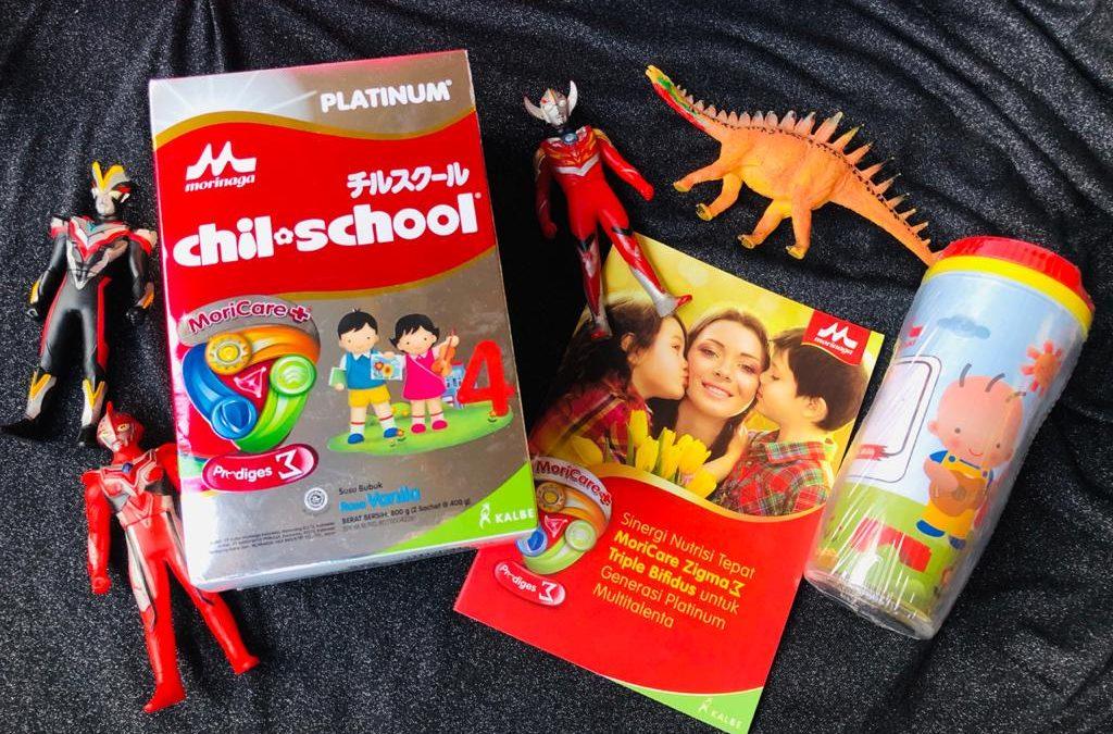 Morinaga Chil*School Platinum Susu Formula Untuk Si Buah Hati Karena Waktu Tak Bisa Kembali