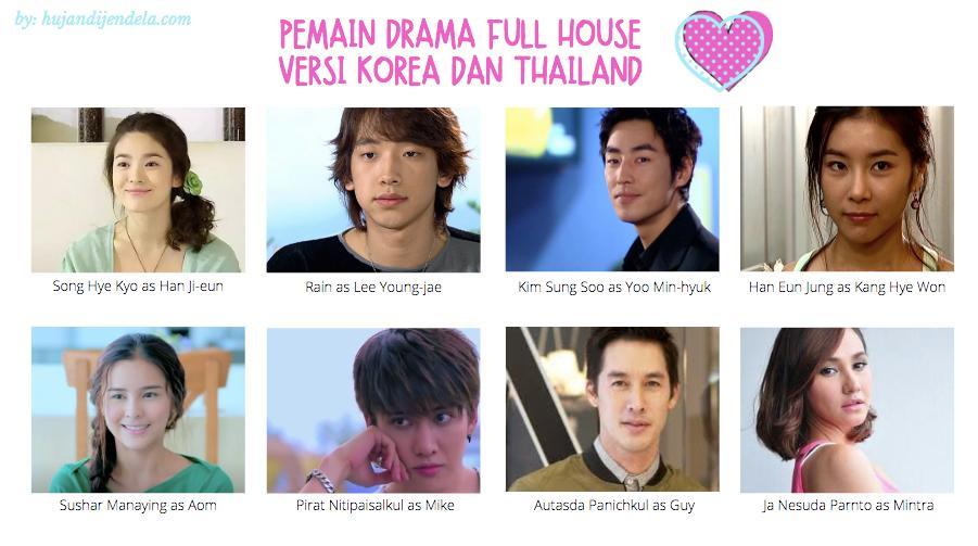 Pemain Drama Full House versi Korea dan Thailand
