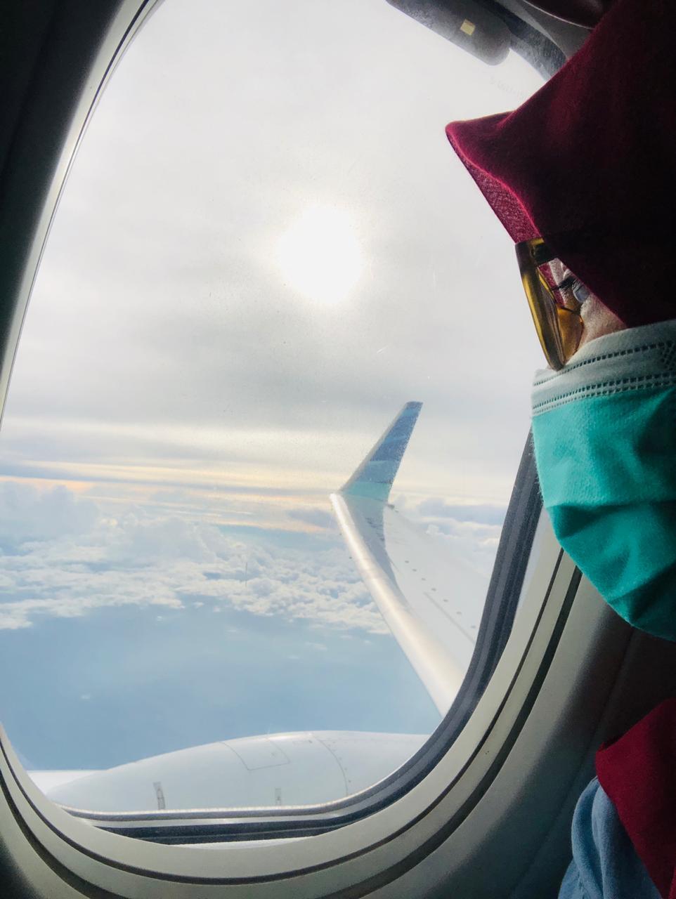 Tips Aman melakukan penerbangan di masa pandemi covid-19