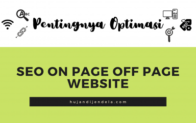 Pentingnya Optimasi SEO On Page Off Page Website