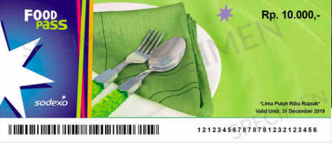Sodexo Gift Pass - Food Pass