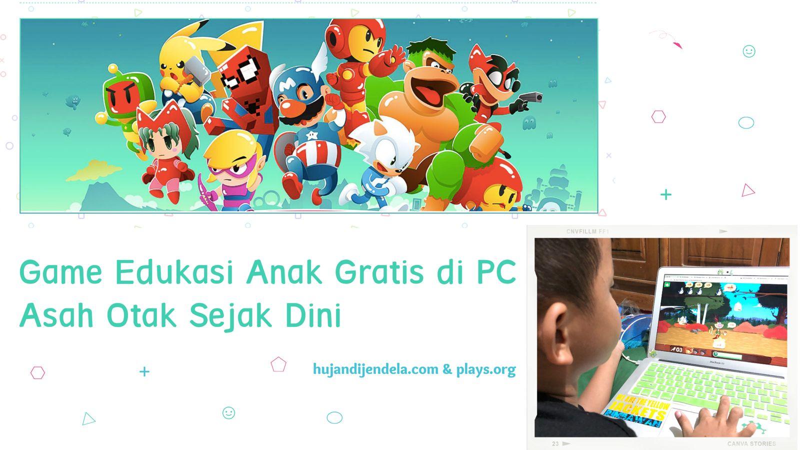 Game Edukasi Anak Gratis di PC - Asah Otak Anak Sejak Dini - Cover 1