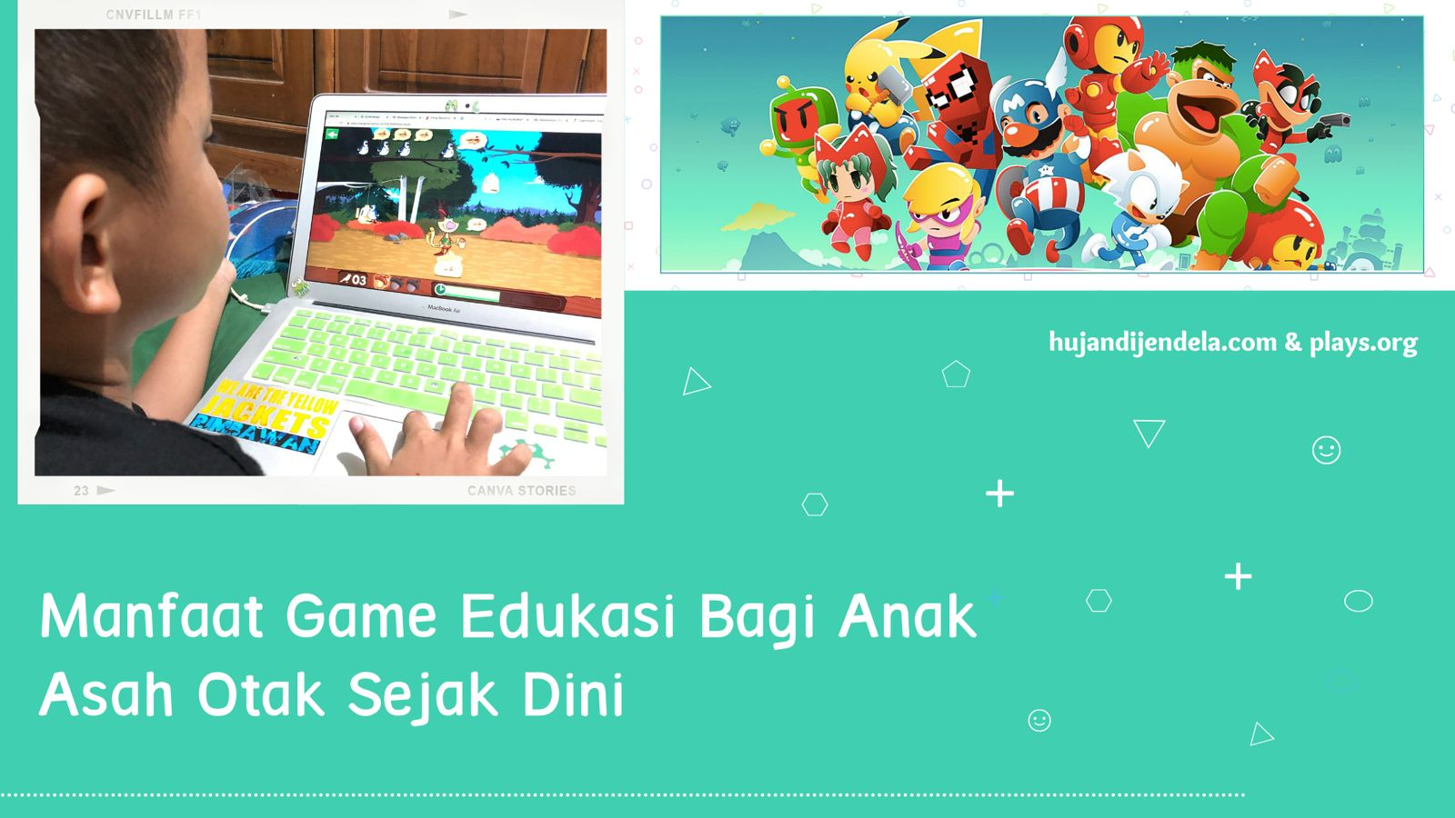 Game Edukasi Anak Gratis di PC - Asah Otak Anak Sejak Dini - Cover 2