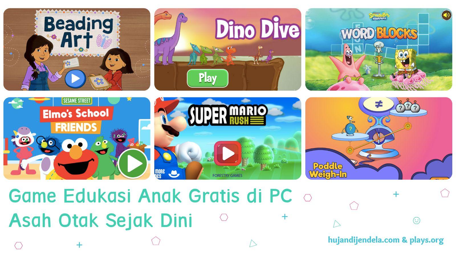 Game Edukasi Anak Gratis di PC - Asah Otak Anak Sejak Dini - Cover 3